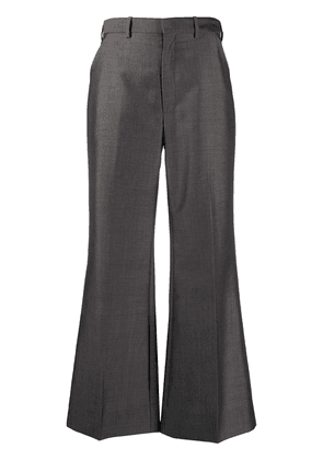 Maison Margiela tailored kick-flare trousers - Grey