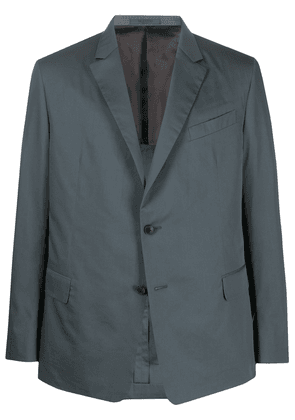 Valentino single-breasted notched lapel blazer - Grey