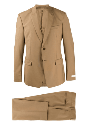 Prada tailored single-breasted suit - NEUTRALS