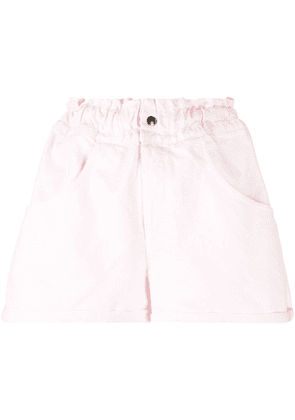 Forte Dei Marmi Couture paperbag flared shorts - PINK