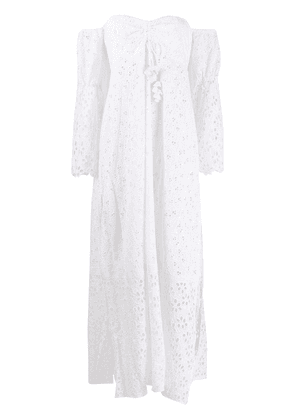 Anjuna Leandra off the shoulder dress - White