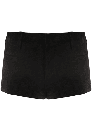 Saint Laurent low-rise short-shorts - Black