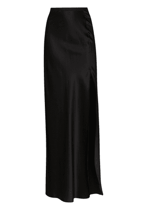 Nili Lotan slit maxi skirt - Black