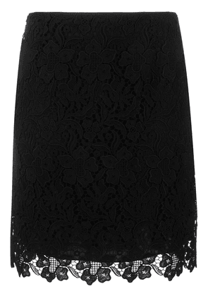 Givenchy floral lace mini skirt - Black