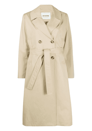 Ava Adore double breasted trench coat - NEUTRALS