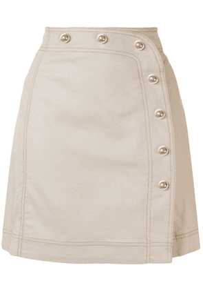 Alice McCall Lost Together skirt - NEUTRALS