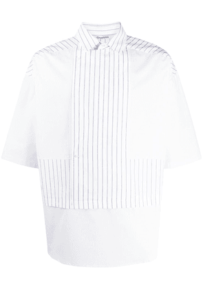 Chalayan striped double-layer shirt - Blue