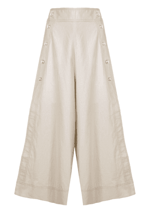 Alice McCall Lost Together culottes - NEUTRALS