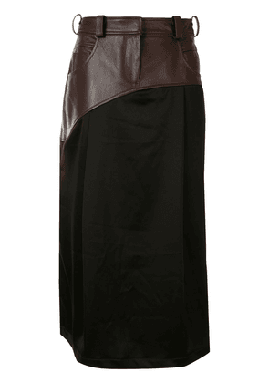 Christopher Esber Eclipse slip skirt - Black