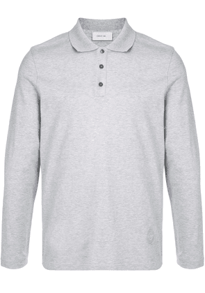 Cerruti 1881 long-sleeve polo shirt - Grey