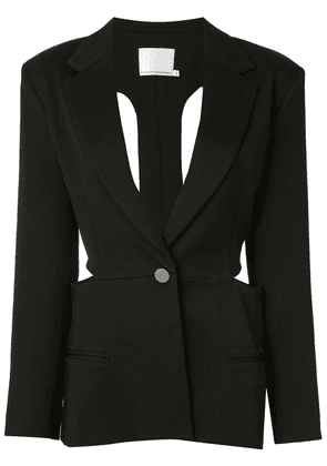 Christopher Esber tie-back blazer - Black