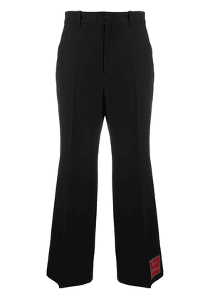 Gucci Orgasmique flared trousers - Black