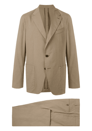 Caruso two piece suit - Brown