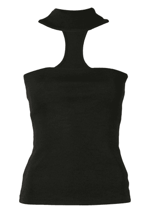 Christopher Esber T-bar halter top - Black