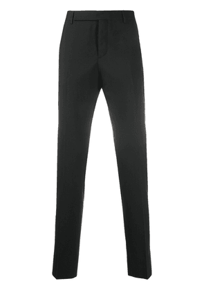 Saint Laurent mid-rise tailored trousers - Black
