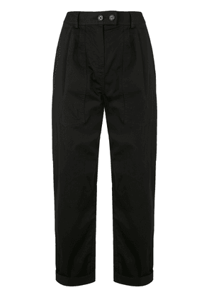 Nili Lotan high-waisted tapered trousers - Black