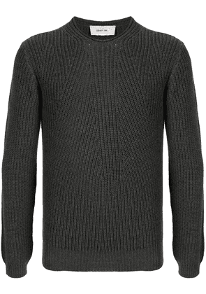 Cerruti 1881 ribbed-knit wool jumper - Grey