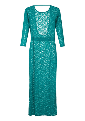Brigitte lace maxi dress - Green