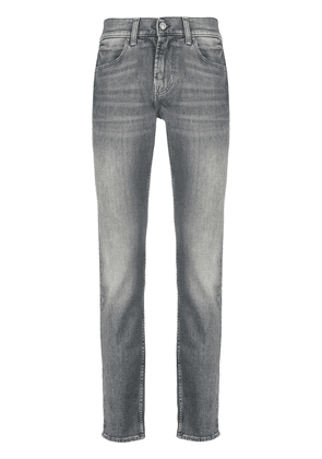 7 For All Mankind Ronnie skinny-fit jeans - Grey