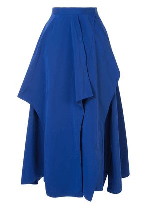 Enföld layered midi skirt - Blue