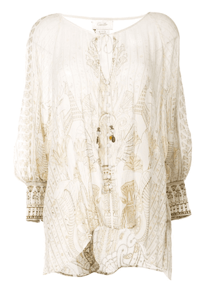 Camilla The Queens Chamber blouse - White
