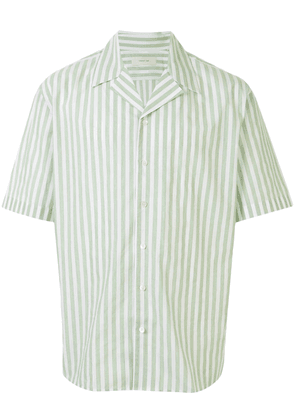 Cerruti 1881 striped short sleeved shirt - White