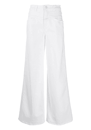 Closed high-rise wide-leg jeans - White