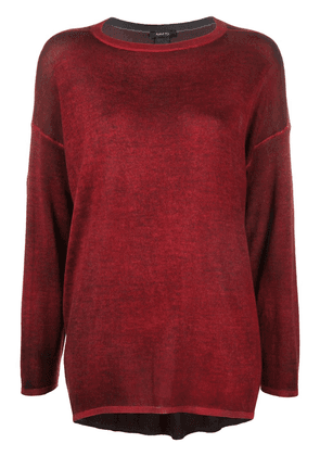 Avant Toi relaxed dolman jumper - Red