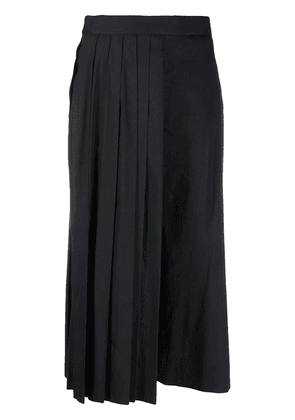 Chalayan pleated culottes - Blue