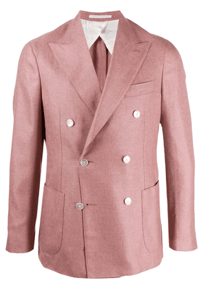 Barba double breasted blazer - PINK