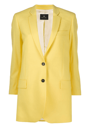 PS Paul Smith single-breasted oversized blazer - Yellow