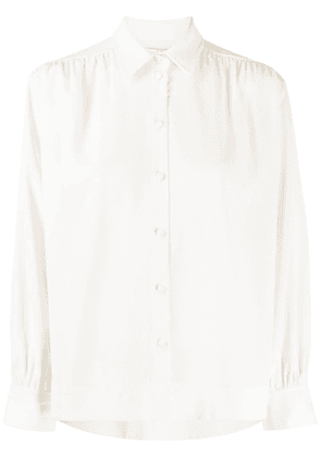 Co back pleated shirt - NEUTRALS