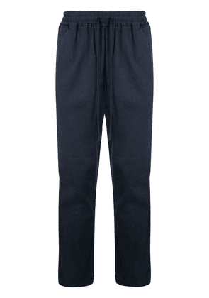 Barena tapered drawstring trousers - Blue