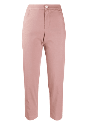 Barena cropped cotton trousers - PINK