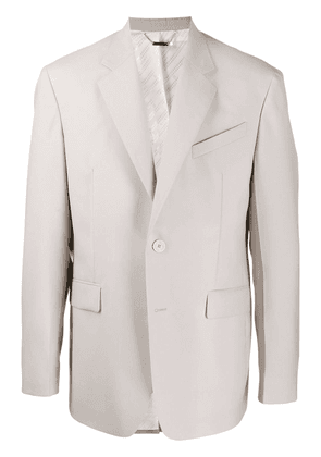 Givenchy single-breasted tailored blazer - Grey