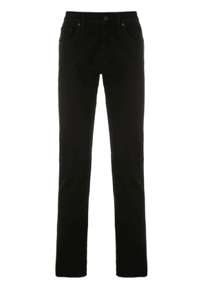 7 For All Mankind Slimmy Luxe straight-leg jeans - Black