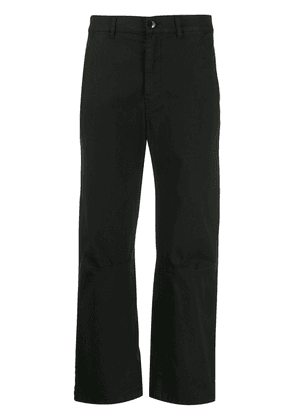 Barena high-rise cropped trousers - Black