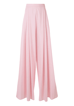 Delpozo wide palazzo trousers - PINK