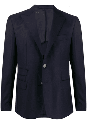 Eleventy fitted single breasted blazer - Blue