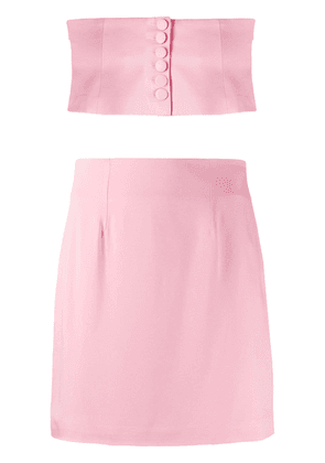Federica Tosi bandeau top & skirt co-ord - PINK
