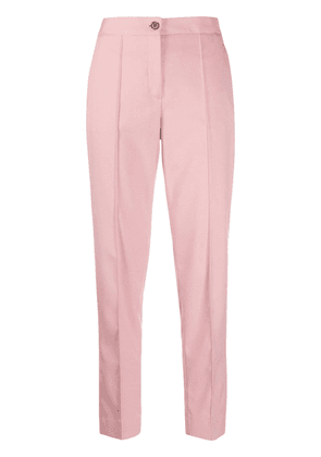 Calvin Klein pinched straight trousers - PINK