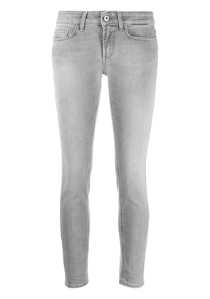 Dondup cropped skinny jeans - Grey