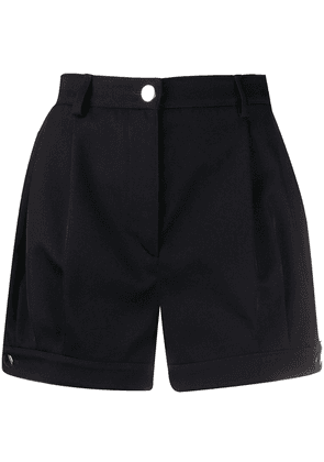 Prada contrast piping detailed shorts - Blue