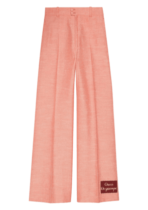 Gucci Orgasmique flared trousers - PINK