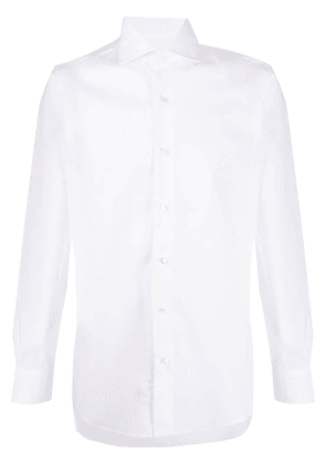 Barba button-up long sleeve shirt - White