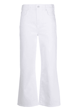7 For All Mankind Alexa flared jeans - White