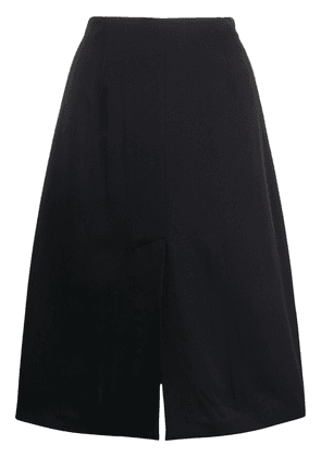 Maison Margiela four-stitched logo skirt - Blue