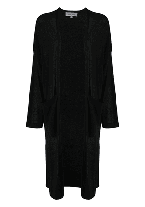 Enföld lightweight long cardigan - Black