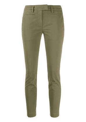 Dondup cropped skinny trousers - Green