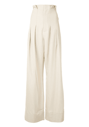Alice McCall Heights wide-leg pants - NEUTRALS